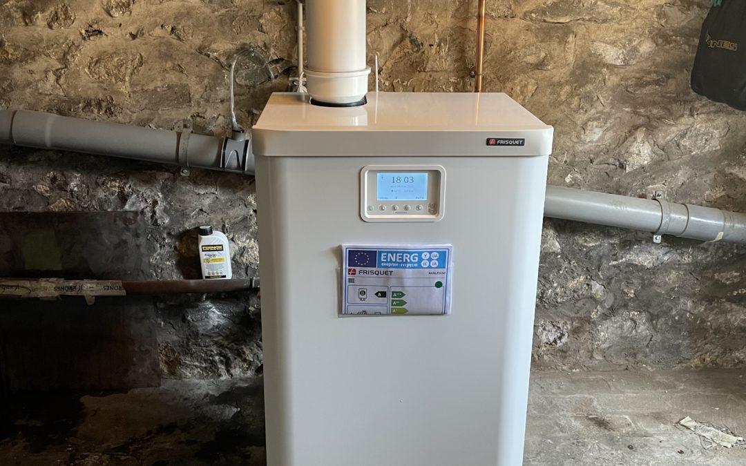 Remplacement de chaudière à gaz Frisquet Thorigny-sur-marne 77
