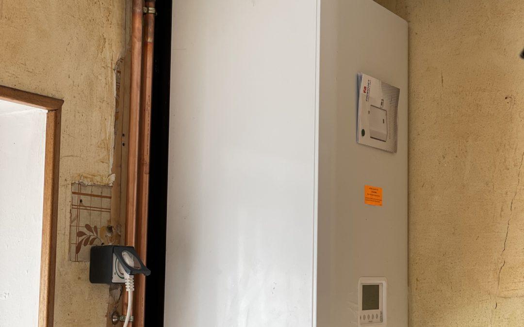 Remplacement a montevrain chaudière frisquet hydromotrix 25 kw mixte condensation